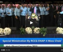 Holy Ghost Convocation – Mass Choir