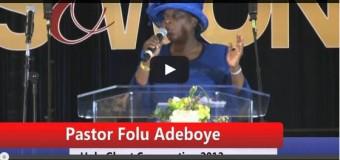 Pastor (Mrs.) Folu Adeboye (Mummy GO)