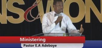 Pastor E.A. Adeboye (Daddy GO)